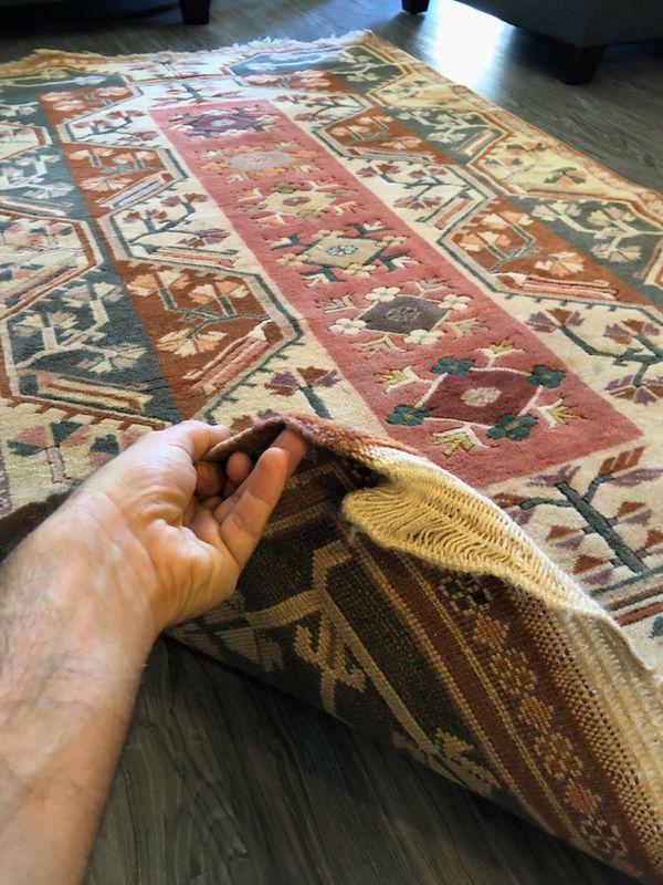 "Vintage Oriental Persian/Turkish Handmade ""Milas"" Rug"