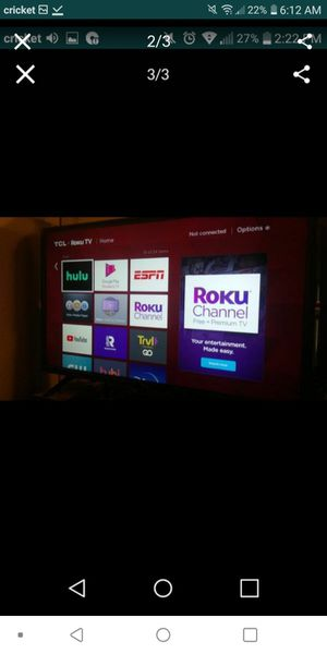 Tcl roku for Sale in Mesa, AZ