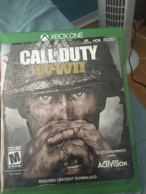 Call of duty world war 2 for Sale in Bakersfield, CA