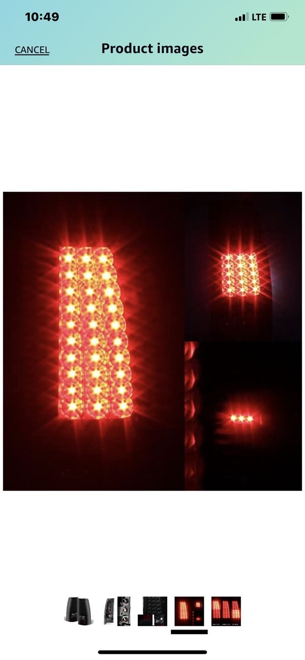 Rear aftermarket tail light lens 2000-2004 Chevy
