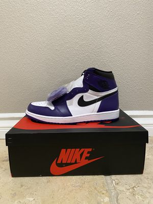 Jordan 1 court purple 2.0 for Sale in Watsonville, CA