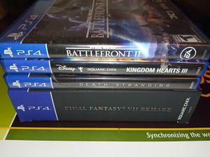 Final Fantasy 7 remake PS4 games for Sale in Tampa, FL