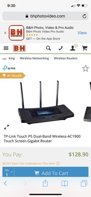 TP-Link AC1900 for Sale in Westerville, OH