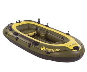 Brand new in box inflatable fishing boat for Sale in Cerritos, CA