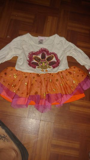 Thanksgiving outfit girl 3t for Sale in Tampa, FL