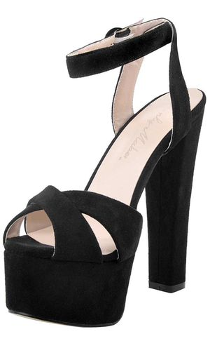 Evening platform heels size 8 for Sale in Upland, CA