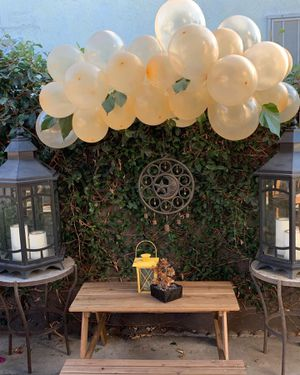 All gold and greenery balloon Garland for Sale in Anaheim, CA