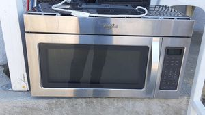 Whirlpool microwave for Sale in Redlands, CA