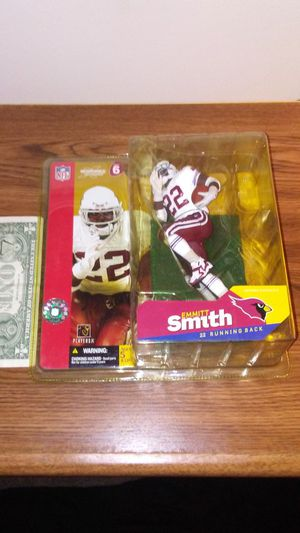 Arizona Cardinals Emmitt Smith NFL action figure for Sale in Cleveland, OH