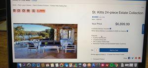 24 piece outdoor furniture set (Costco) for Sale in Fairfield, NJ