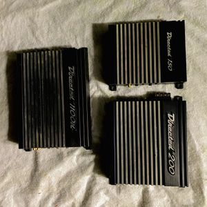 ($260 No Less / No Menos ) Directed Audio 3 Amplifier Set / Not Seperating for Sale in Sanger, CA