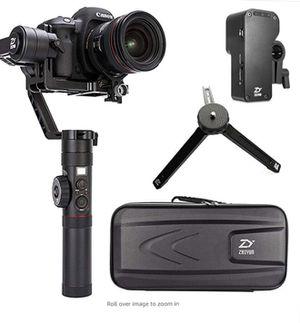 Zhiyun Crane 2 Gyro Stabilizer for DSLR cameras Canon nikon sony etc for Sale in Alexandria, VA