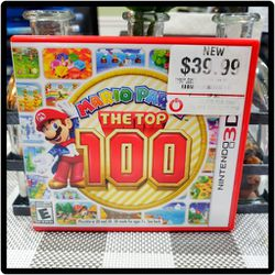 2017 Nintendo 3DS, Mario Party, The Top 100, Game for Sale in Pompano Beach,  FL