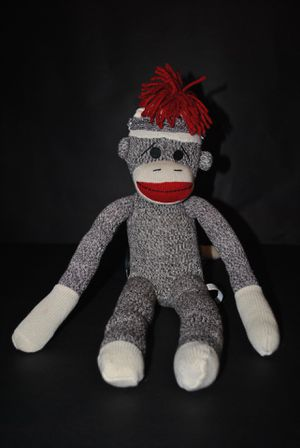 """Schylling Sock Monkey Doll 20"" Collectible Plush Stuffed Animal for Sale in Carrollton, TX"