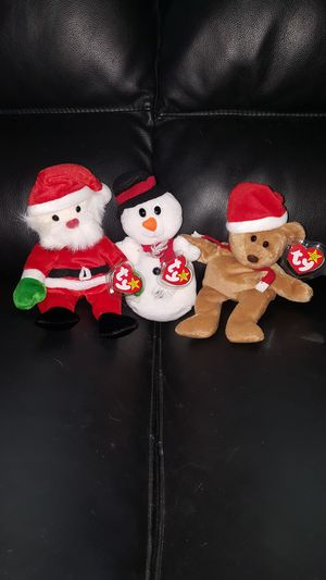 Christmas Beanie Babies for Sale in Santa Ana, CA