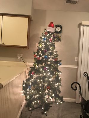 Christmas tree 🎄 Length 75 for Sale in Aurora, IL