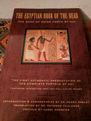 Egypt book of the dead for Sale in Richland, MO