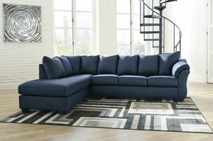 [SPECIAL] Darctfgy Blue LAF Sectional for Sale in Beltsville, MD