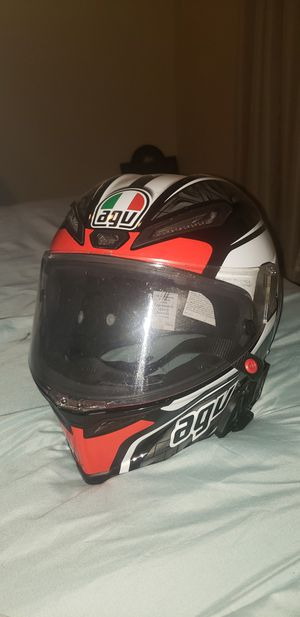 AGV CORSA MOTORCYCLE HELMET SZ M-L for Sale in Fresno, CA