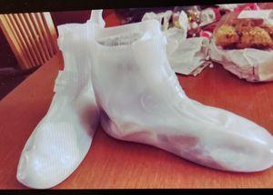 Rain Boots- Size Size 3XL- White for Sale in Fairburn, GA