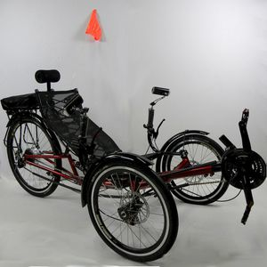 ERT-36 Folding recumbent tricycle for Sale in Miami, FL