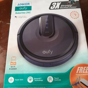 Anker eufy RoboVac 25C Wi-Fi Connected Robot Vacuum for Sale in Exeter, CA
