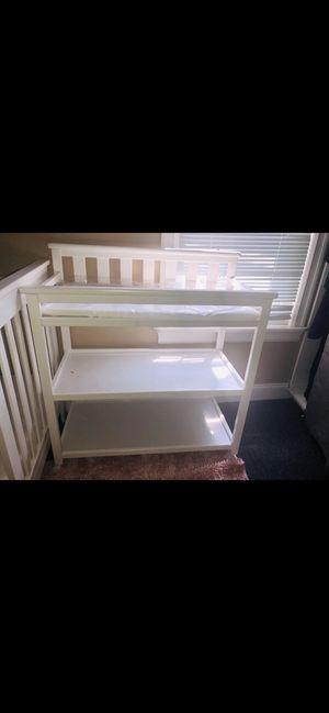 White changing table for Sale in Buffalo, NY