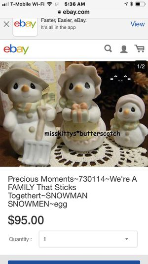Precious moments collectibles , snowmen for Sale in Clovis, CA