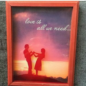 1970's Love Is All We Need Picture Frame for Sale in Newport Beach, CA