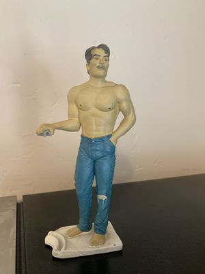 Hot Retro Gay Guy Beer Can Holder for Sale in San Diego, CA