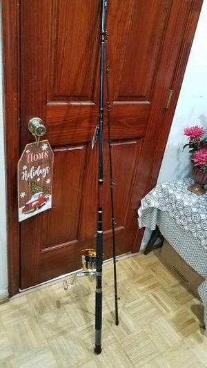 Daiwa 9'6 Fishing Rod w/ Big Reel Both Brand New for Sale in Virginia Beach, VA