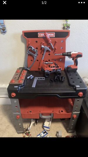 Craftsman toy work bench and tools for Sale in Mill Creek, WA