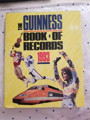 The Guinness Book of World Records 1993 for Sale in Evansville, IN