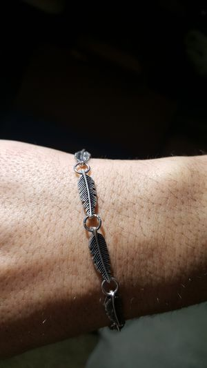 Silver Feather Bracelet for Sale in Portland, OR