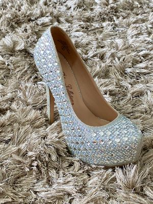 Diamond High Heels - Party/Prom/Wedding/Red Carpet for Sale in Miami, FL