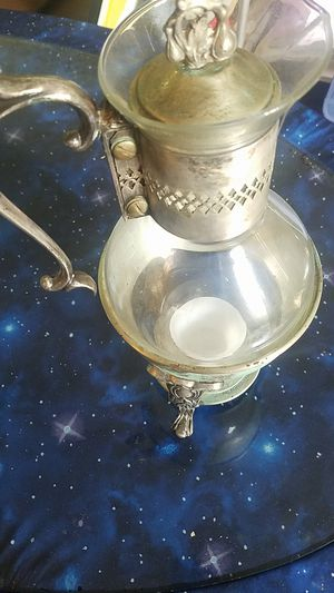 Antique vessel silver and glass teapot? for Sale in Monterey Park, CA