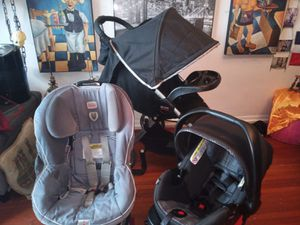 Britax complete set. New 890$ for Sale, used for sale  Queens, NY