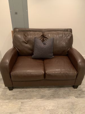 Brown couch for sale for Sale in Washington, DC