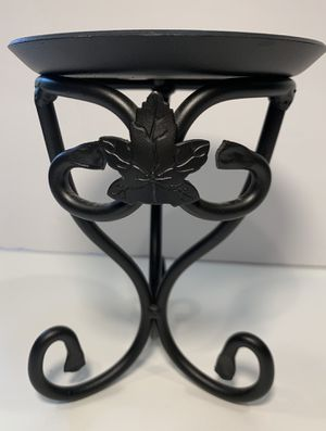 "New Longaberger Wrought Iron candle or basket holder pedestal 6"" for Sale in Woodinville, WA"