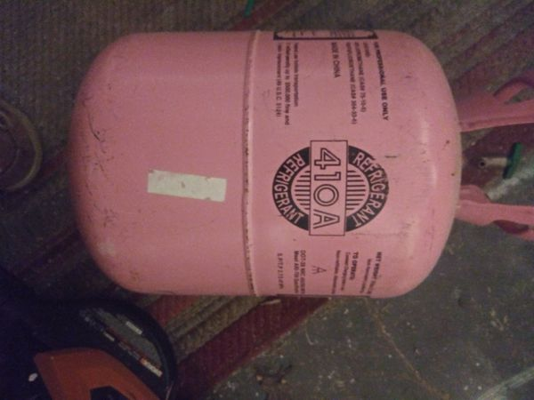 410A Refrigerant 14lbs in 30lb Canister