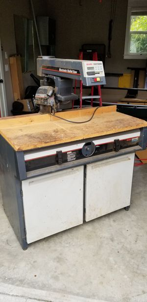 10 inch electronic radial arm saw for Sale in Oregon City, OR
