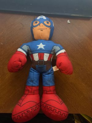 Captain America plush doll for Sale in Lake Stevens, WA