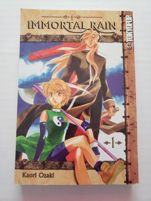 Tokyopop Immortal Rain Anime Books Volumes 1 and 2 for Sale in Henderson, NV
