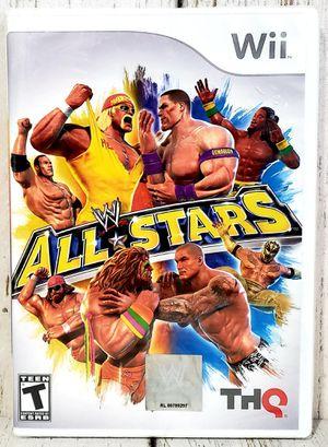 WWE: All Stars (Nintendo Wii, 2011) THQ - NEW NIP SEALED for Sale in Harrisonburg, VA