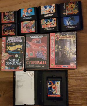 Sega Genesis and Game Gear Games for Sale in Fort Worth, TX