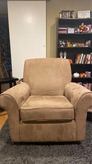 Beige Rocking Chair/Glider for Sale in SeaTac, WA