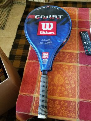Wilson Tennis Racket Oversize Soft Shock Yes still Available for Sale in Hesperia, CA