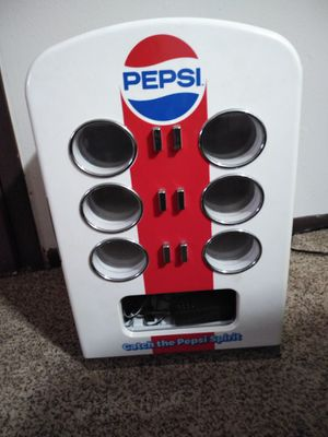 Pepsi mini fridge, holds a twelve pack, ice cold for Sale in Wichita, KS