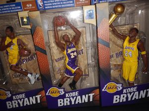 Kobe Bryant Action Figures Collection for Sale in Los Angeles, CA