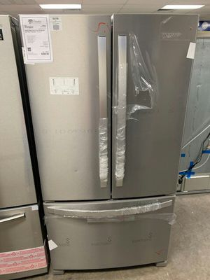 New Whirlpool Stainless French Door Refrigerator Fridge...1yr Manufacturers Warranty..:Paradise Appliance for Sale in Gilbert, AZ